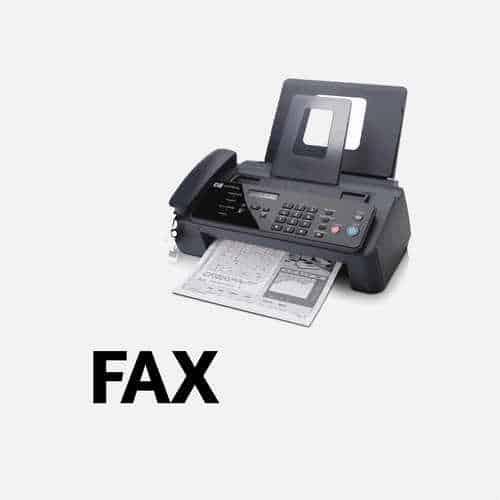 invio e riscezione Fax