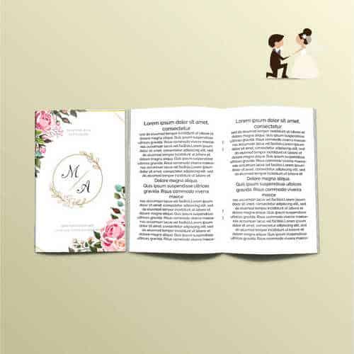 libretti per la messa matrimoni