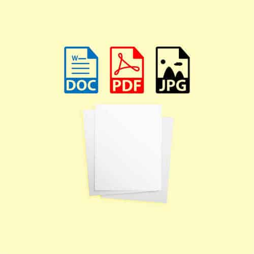 stampe da file